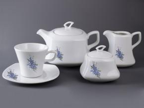 Čajová sada Gama 15 dílná (Pomněky)