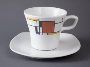 Šálek s podšálkem Gama (Mondrian)