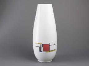 Váza čtyřboká Mondrian