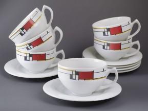 6x Šapo Scarabeus (Mondrian)