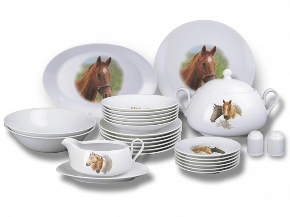 Jídelní souprava Viola (Koně)