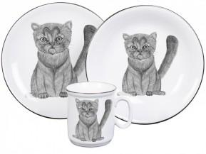 Dětská porcelánová sada Kočička