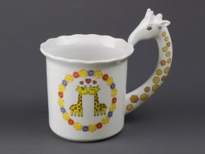 Hrnek (žirafy, ucho-žirafa)